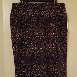 ❤NWT 2XL PURPLE CASSIE SKIRT